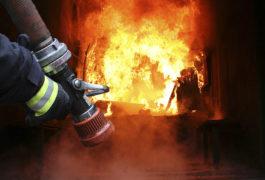 Brand in einer Siloanlage: 80 Feuerwehrleute im Einsatz