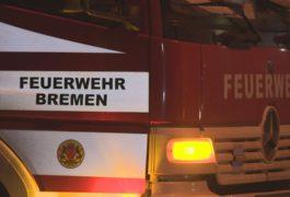 Imbissbude beim Weserstadion brennt nieder – Polizei sucht Zeugen