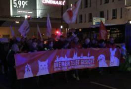 Bremen zeigt Gesicht - Groß-Demo zieht durch die Innenstadt [VIDEO + BILDER]