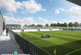 Ausbau des Leistungszentrums:  Werder stellt Pläne für Pauliner Marsch vor