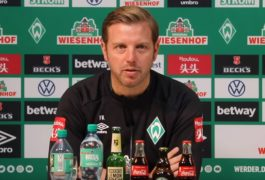 Werder-Pressekonferenz vor dem Spiel gegen RB Leipzig