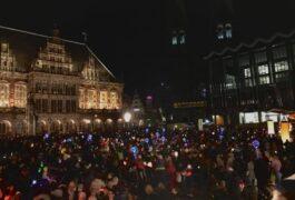 Der große Laternenumzug in der City [Live-Video]