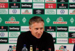 Bundesliga-Auswärtsspiel: Borussia Mönchengladbach gegen Werder Bremen – Highlights der Werder-Pressekonferenz im Video