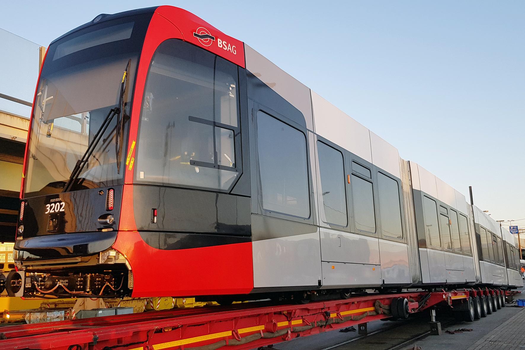 Mehr Platz und weniger Lärm - Neue Straßenbahn in Bremen