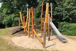 Umbau der Spielplätze in Horn-Lehe abgeschlossen - Kinder bekommen Wasserspiel