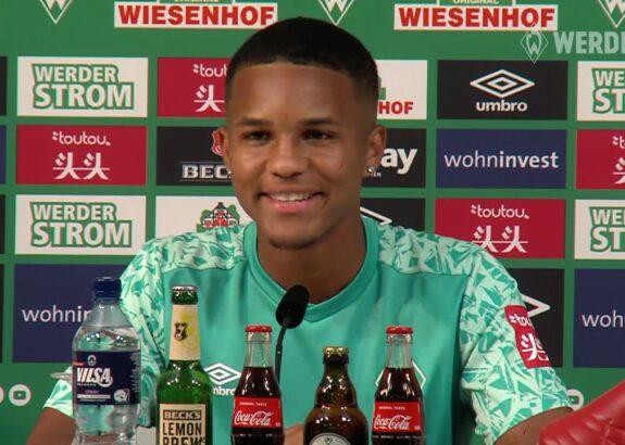 Highlights der Werder-PK vom 10. August - Vorstellung von Neuzugang Felix Agu (VIDEO)