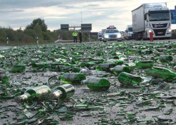 Autobahn voller Bier