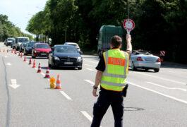 60 Fahrzeuge kontrolliert - 24 Verstöße