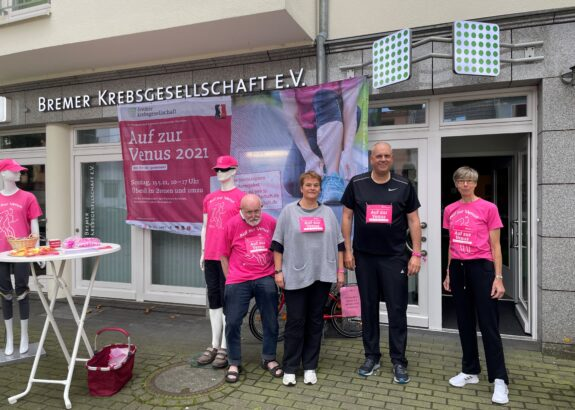 20 Jahre Venuslauf zugunsten von Krebskranken – Bürgermeister Bovenschulte war auch am Start